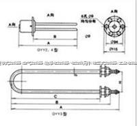 GYY2型管状电热元件 GYY2型