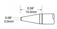 美国奥科(metcal) SFV-CRL20烙铁头