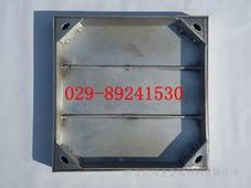 西安不锈钢隐形井盖加工/不锈钢铺装井盖