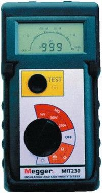 MIT230 绝缘和连续性测试仪