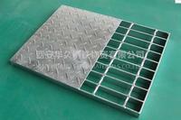 镀锌钢格栅 污水处理厂格栅板 金属格栅网 镀锌钢格栅 污水处理厂格栅板 金属格栅网