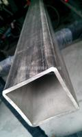 西安拉砂不锈钢货架展示管 304机械设备支架拉丝管 电梯装饰焊接方管