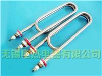 双头螺纹安装电加热管、无锡电加热管、油水电热管 双U不锈钢电热管