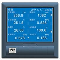 VX5300蓝屏无纸记录仪 多通道无纸记录仪 温湿度记录仪 多参数记录仪