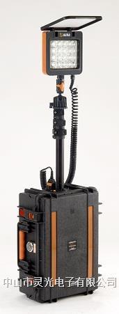 灵光XC3826-16WS便携式移动照明 LED灯 工程灯 升降灯 应急灯