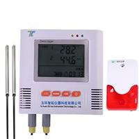 声光报警双路溫度記錄儀 i500-E2T-A