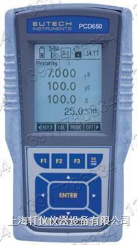 Eutech PCD650便携式防水型多参数水质测量仪 ECPCDWP65044K