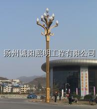 太阳能LED高杆灯 001