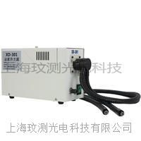 XD301卤素灯150W双支软管分叉光纤冷光源 XD-301