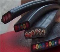 10芯1.5平方黑色橡套行车扁平电缆