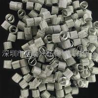 精馏塔填料高效率筛网一字环西塔环金属丝网填料不锈钢金属填料 HF-DKS