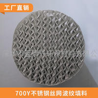 CY-700丝网填料不锈钢波纹规整填料同位素分离填料 LTX-S700Y