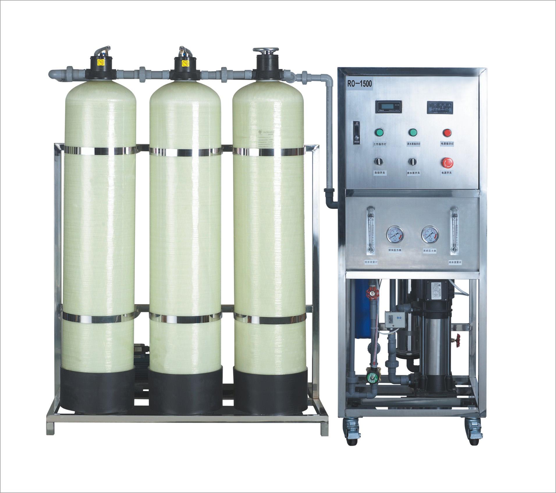 1吨桶装纯净水设备 0.25吨0