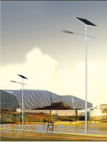锂电池太阳能路灯厂家 SLE-007
