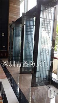 甲级玻璃防火门