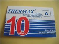 10格A型温度纸 热敏试纸 10格A型测温纸 英国TMC感温热敏试纸 10格A型