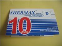 英国THERMAX温度试纸 TMC测温纸 10格D型温度指示标签 热敏试纸 10格D型