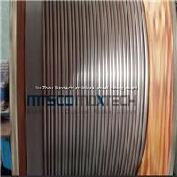Stainless steel coiled electric heating tubing