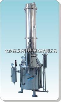 TZ100不锈钢塔式蒸汽重蒸馏水器 TZ100