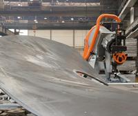 圆弧坡口机 专门坡圆弧的一款自动行走式坡口机