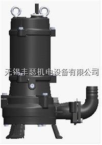 WQ系列鹤见污水泵污物潜水电泵 WQ12-10-0.75