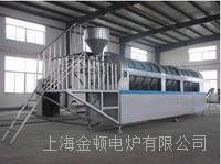 硅碳负极材料高温包覆连续式回转炉