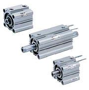 CQ2系列-SMC薄型气缸效果图 CQ2B25-50D