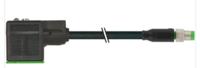 黑色MURR带电缆的连接器 7005-12021-6340150