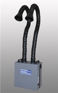厂家直销X1002双工位烟尘净化机 奥斯恩双工位烟尘净化机X1002 深圳双工位烟雾净化器 X1002双工位烟尘净化机