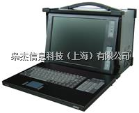 14寸下翻加固便攜機8槽位擴展四核處理工控機XJ-6420I-R10