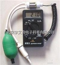 袖珍氧分析仪 手持式氧量测量仪酸素计 氧电极CY-12C便携式测氧仪 CY-12C
