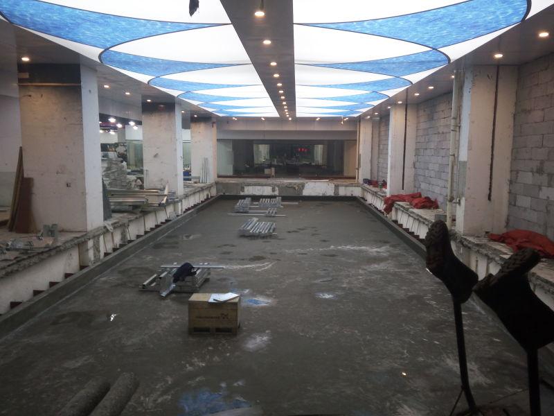 江门健身房钢结构拆装式游泳池设备工程公司