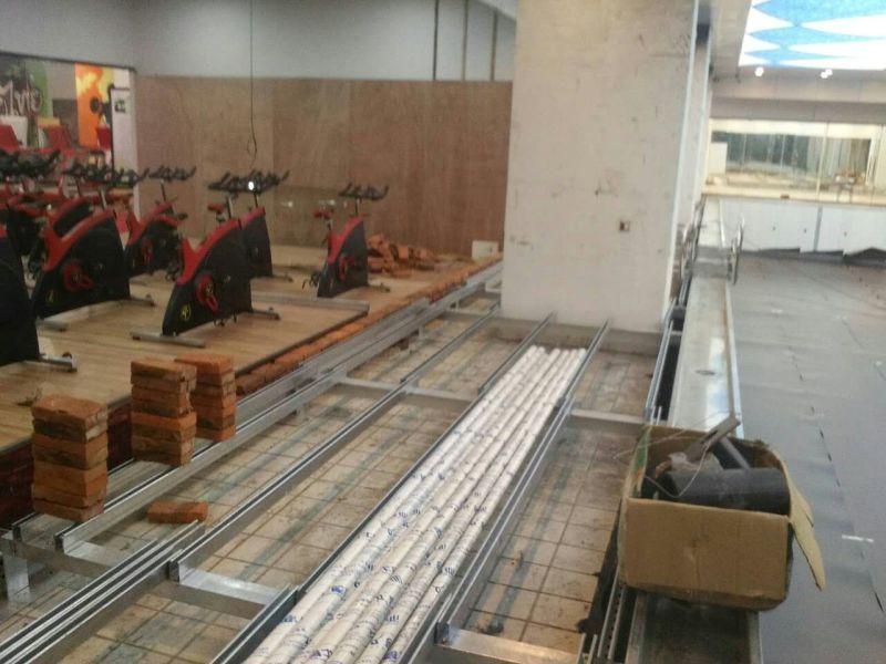 吕梁健身房钢结构拆装式游泳池设备工程公司