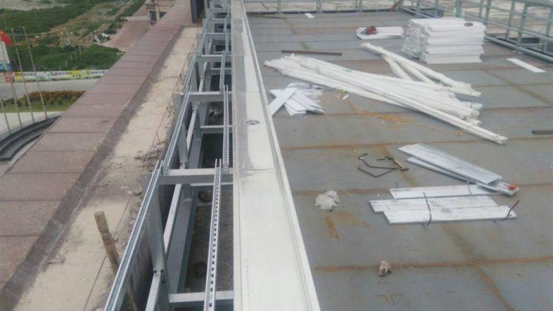 健身房钢结构拆装式游泳池工程