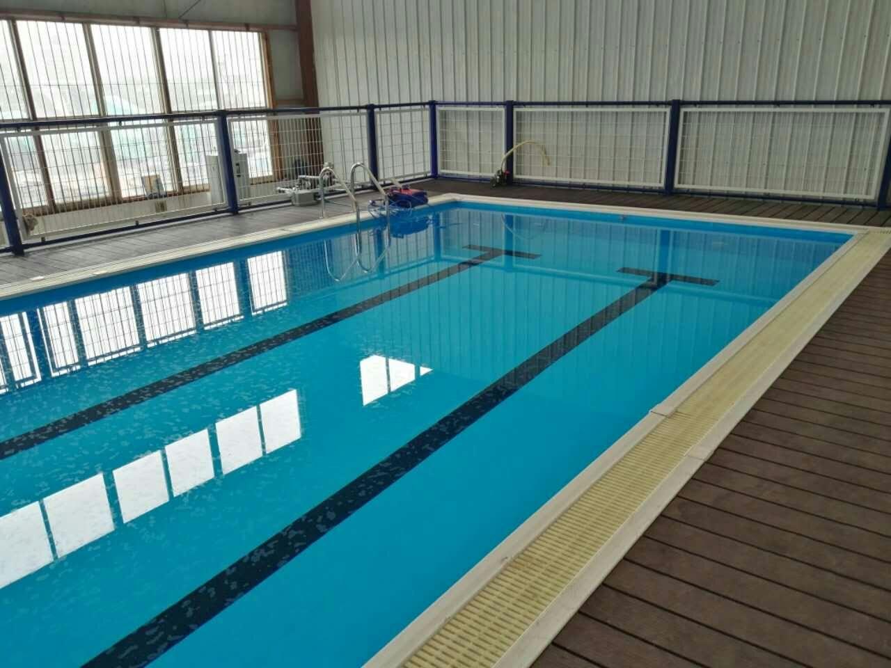 健身房钢结构拆装式游泳池设备工程