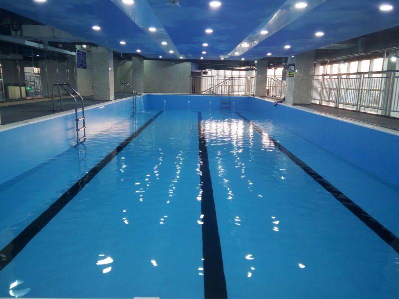 宜春健身房游泳池建造,钢结构拼装式游泳池