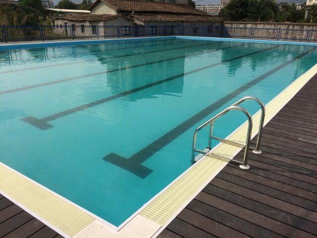 韶关健身房游泳池建造,钢结构拼装式游泳池
