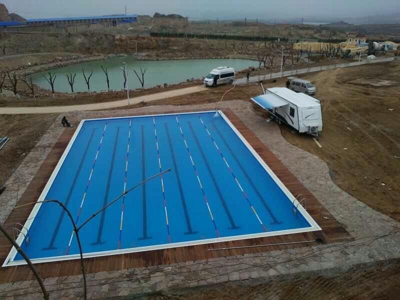 雅安健身房游泳池建造,钢结构拼装式游泳池