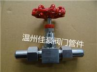 J23W-160P不锈钢仪表阀,仪表截止阀,气源针阀,气源外螺纹针型阀 J23W-160P