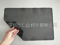 黑色硅胶防滑垫、黑色无痕防滑垫、深圳无痕硅胶a片防滑垫