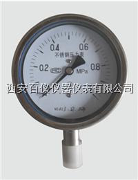 耐震不锈钢压力表,Y-150BFZ,不锈钢耐震压力表 YTF-150Z