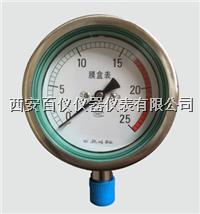 Y-100BF,不锈钢压力表 Y-100BF