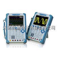 漢泰DSO1000B系列手持式示波器,6000Count 計數萬用表, 示波器與萬用表電氣隔離, 640*480的高分辨率, 1M存儲深度 漢泰DSO1000B系列