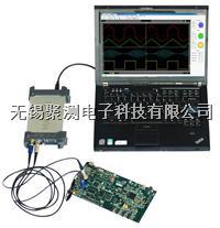 漢泰Hantek6000系列虛擬示波器,USB2.0接口即插即用,免電源, 支持Win7/Win8,8位分辨率,支持 USBXI,與臺式示波器界面相近, 漢泰Hantek6000系列虛擬示波器