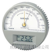 日本佐藤(SATO)Baromex气压计(带温度计) Baromex气压计(带温度计)