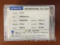 advantec聚四氟乙烯滤膜 J020A047A J020A047A