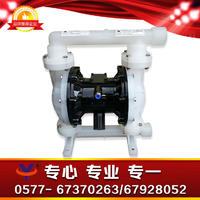 工程塑料气动隔膜泵 QBK-40S聚丙烯双隔膜泵 PP耐腐蚀隔离泵 QBK-40S