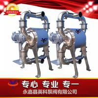 食品卫生级电动隔膜泵 国产食品级双隔膜泵  YKDW-63PFBTF