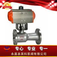 气动一体式高温球阀 QJ641M