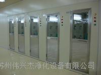 苏州伟兴杰单人双吹风淋室,双人生产风淋通道 1400x3000x2150